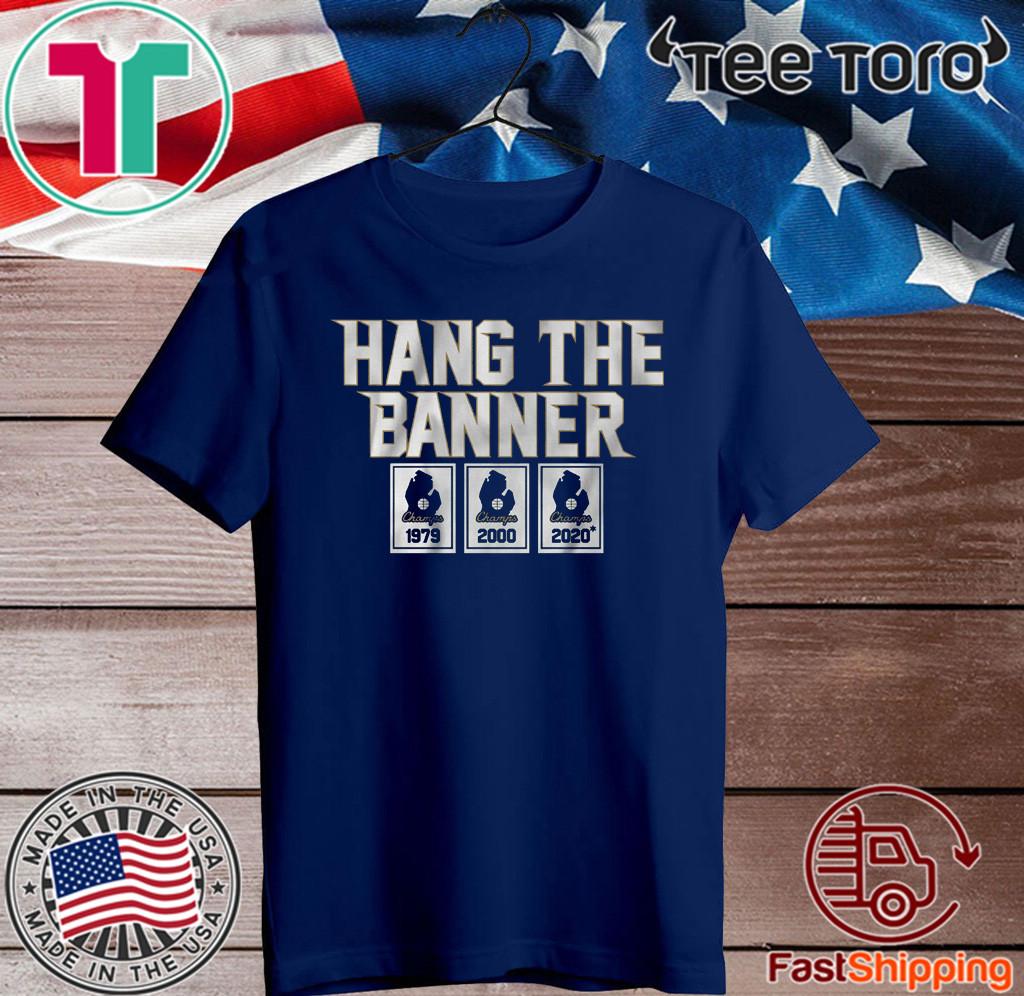 Hang the Banner East Lansing Shirts