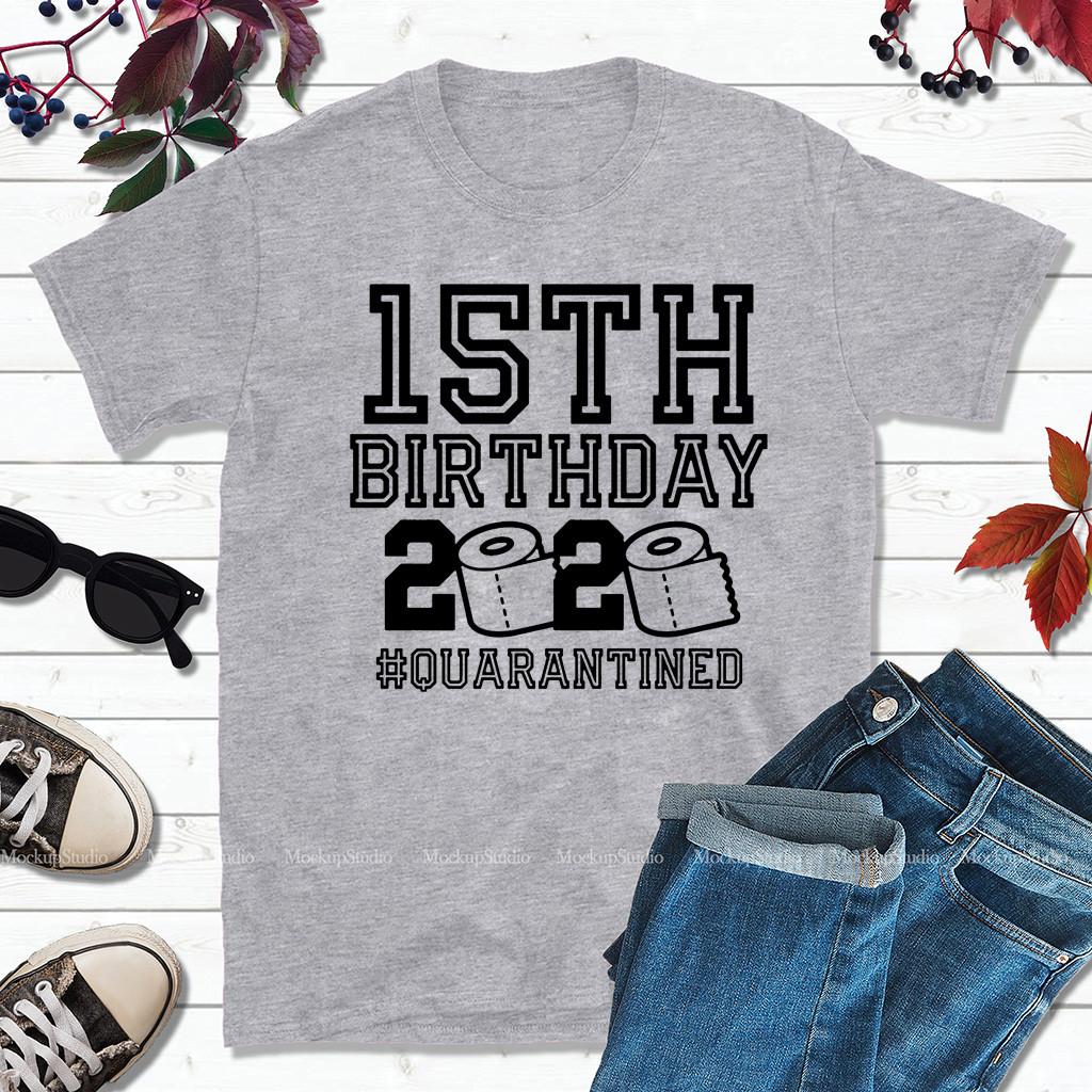 15th Birthday Shirt - The One Where I Was Quarantined 2020 T-Shirt - #Quarantine2020