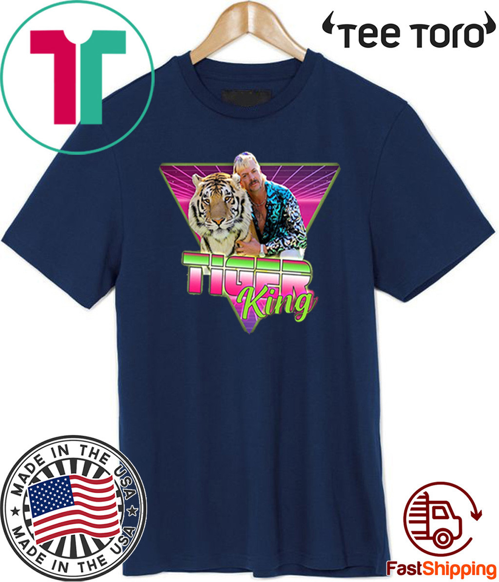 Joe Exotic – Joe Exotic 2020 Tiger King Shirt – #JoeExotic Shirt – Joe Exotic Retro Vintage Shirt T-Shirt
