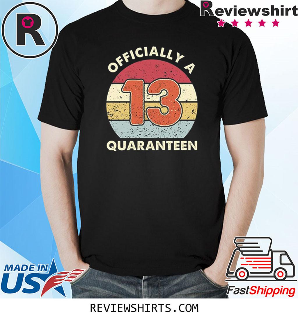 21st Birthday 2020 Quarantined Funny Vintage Gift 2020 Shirt