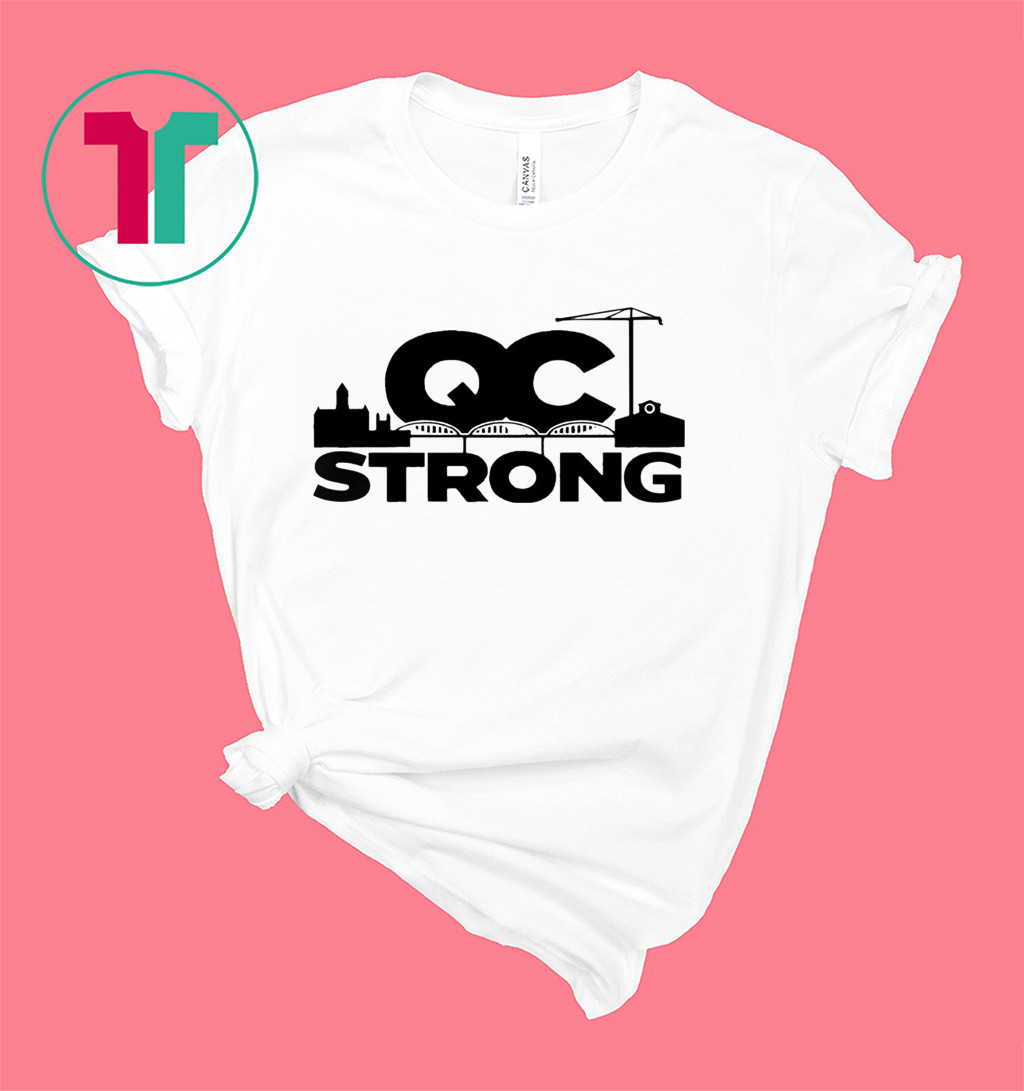 QC Strong Quad-City T-Shirt