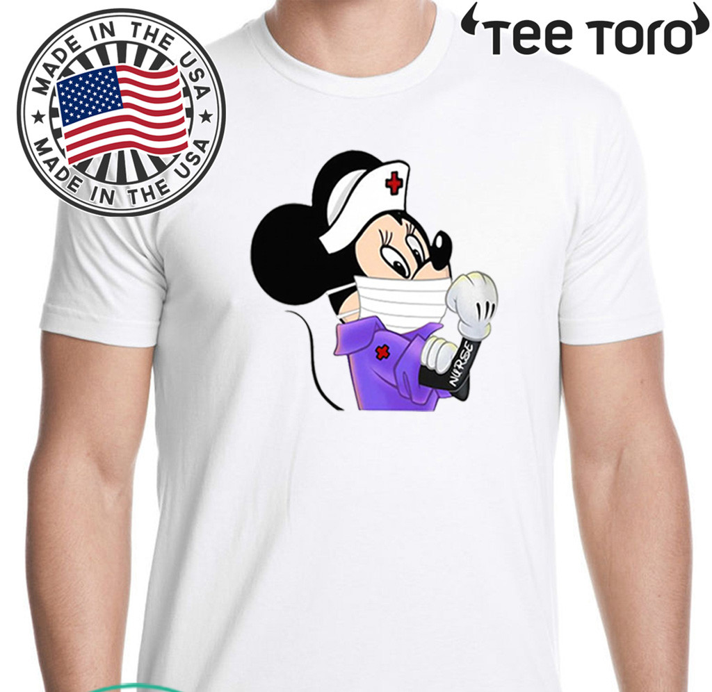 Thank For Strong 2020 Minnie Mouse Nurse T-Shirt