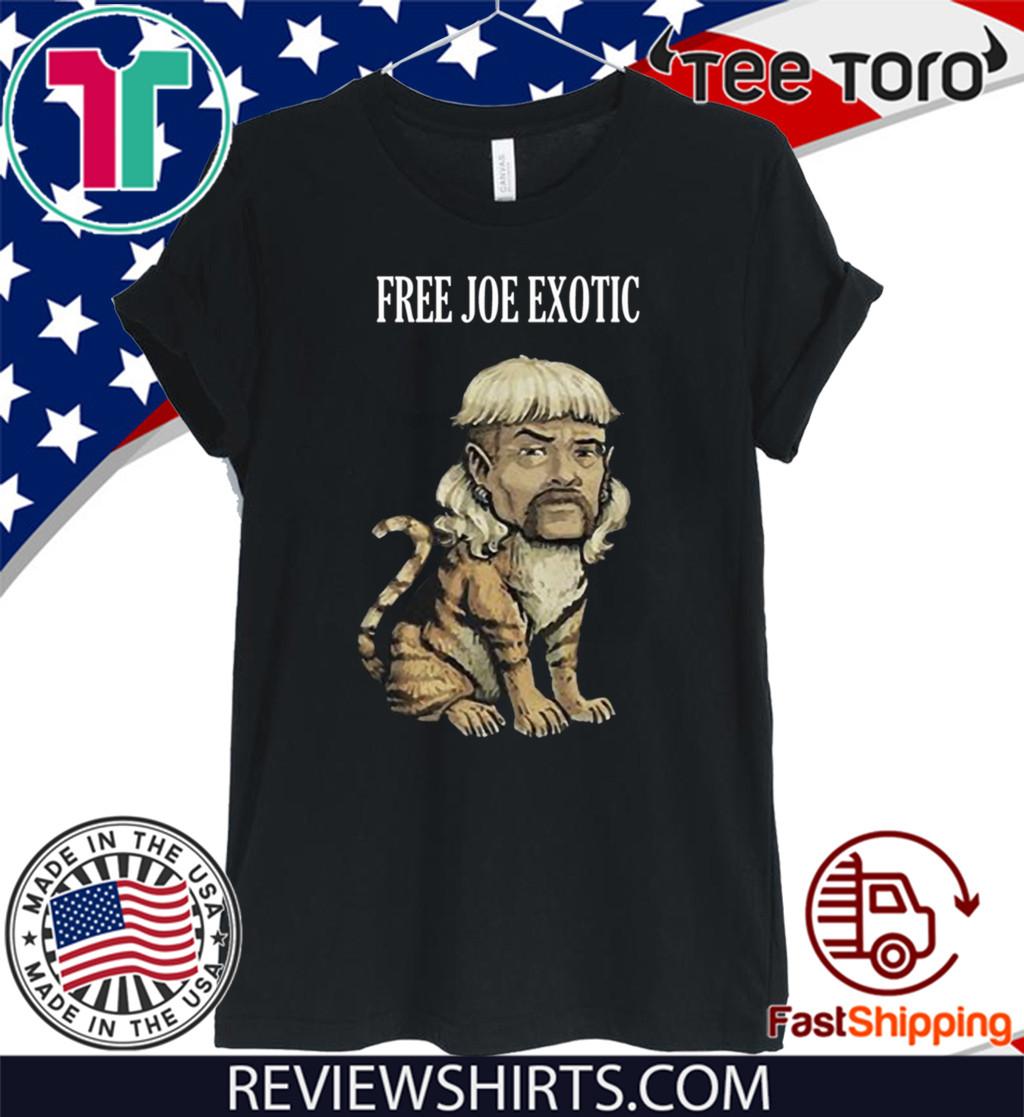 TIGER KING 2020 FREE JOE EXOTIC T-SHIRT