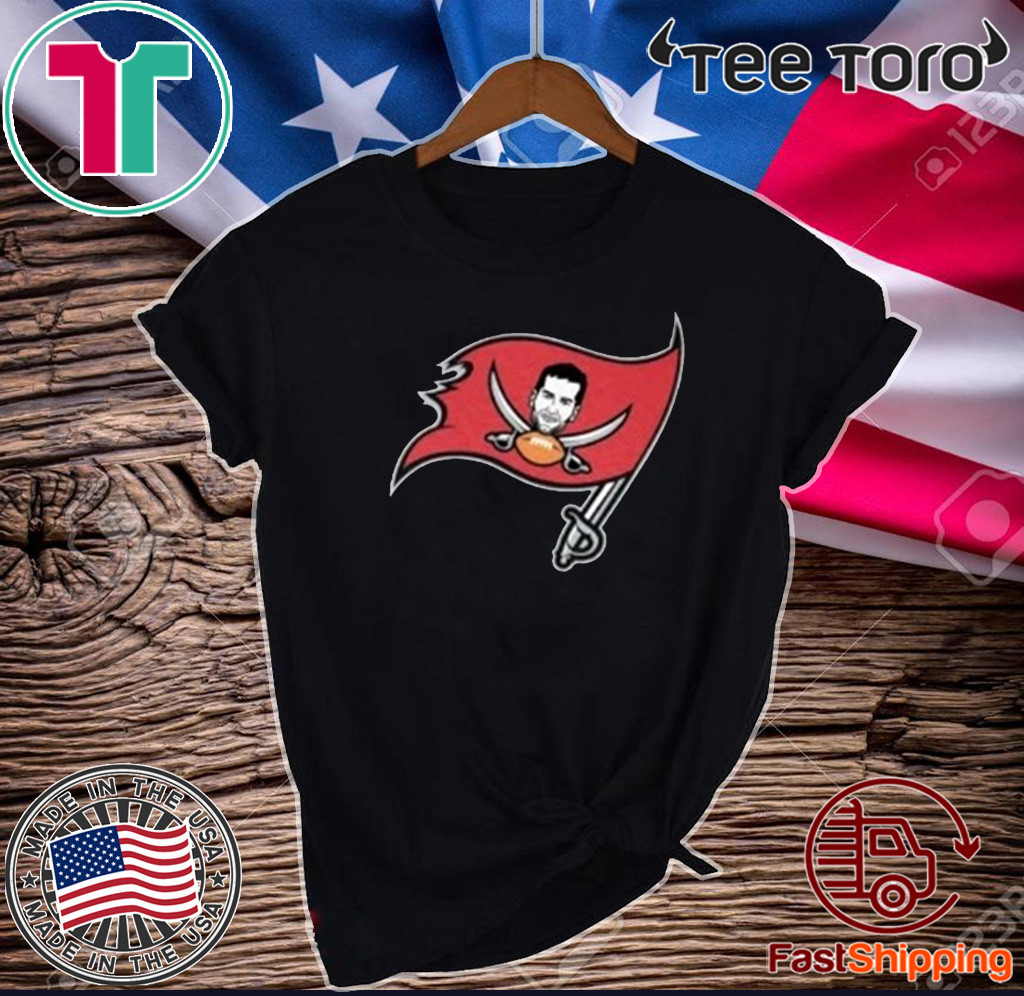 Tompa Bay Shirt - Tom Brady Tampa Bay Buccaneers Flag T-Shirt