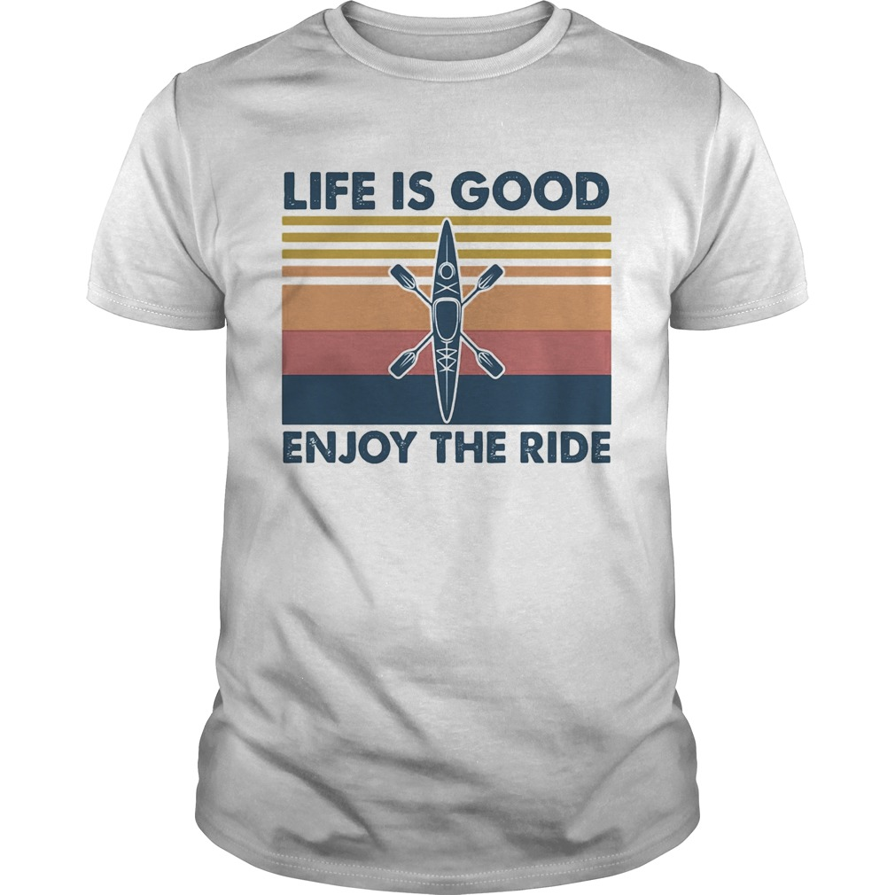 1590130528Rowing life is good enjoy the ride vintage  Unisex