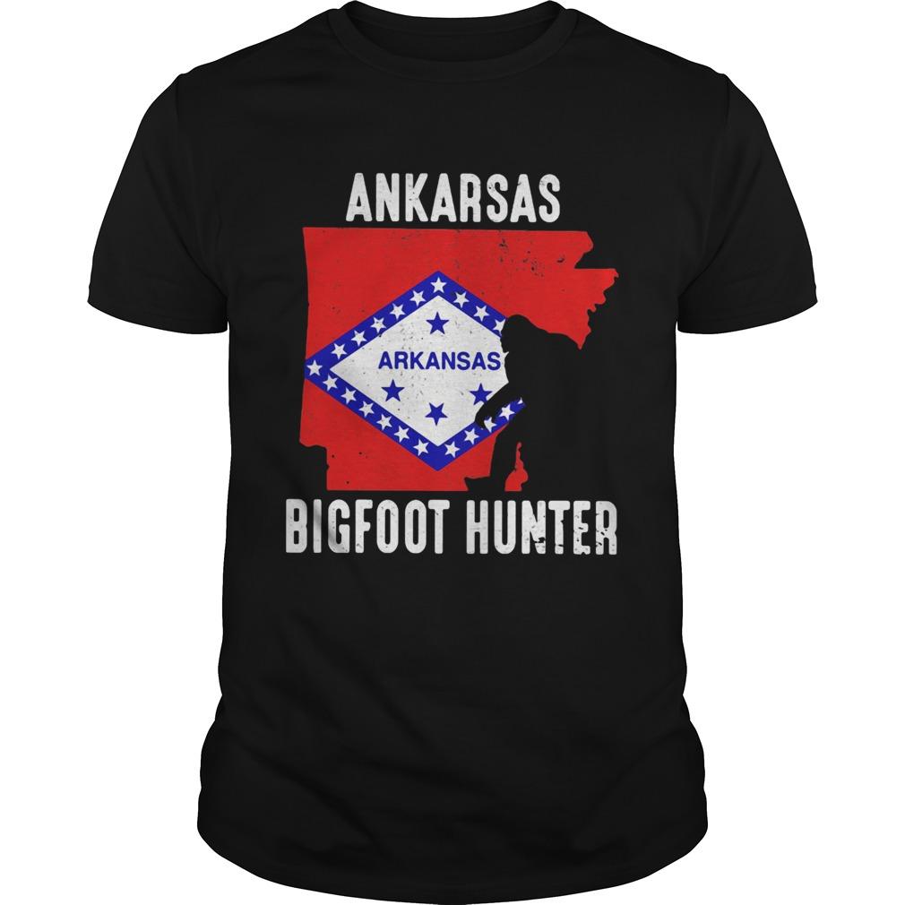 Arkansas bigfoot hunter flag  Unisex