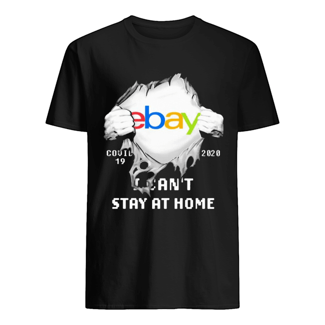 Blood Inside Me EBay COVID-19 2020 I Can't Stay At Home  Classic Men's T-shirt