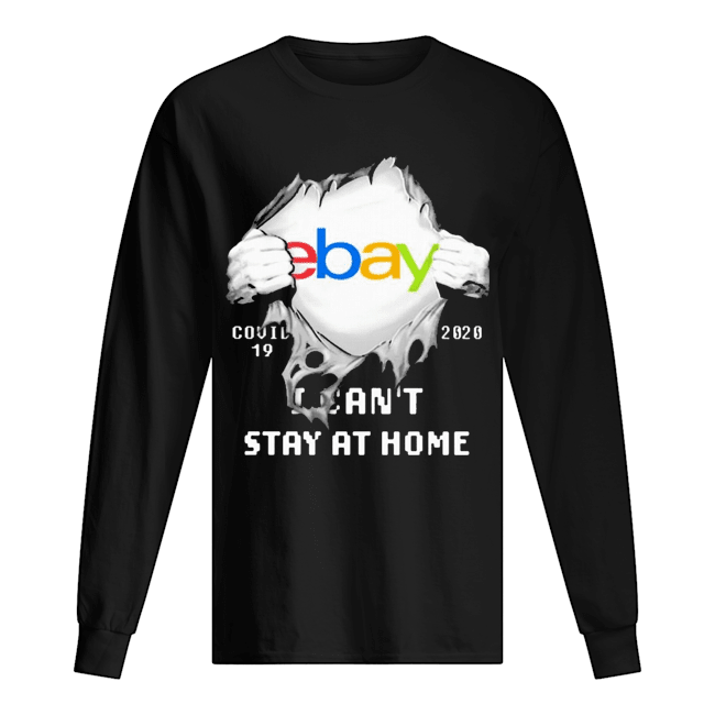 Blood Inside Me EBay COVID-19 2020 I Can't Stay At Home  Long Sleeved T-shirt