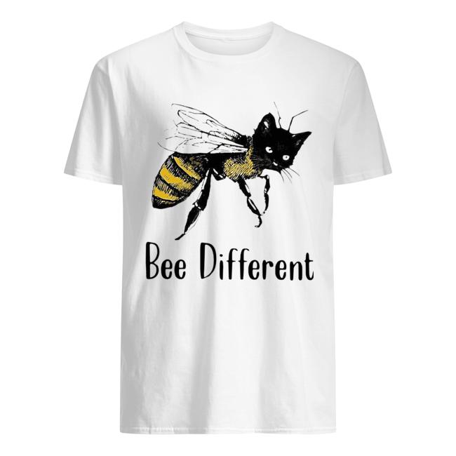 Cat Graphic Bee Diffirent  Classic Men's T-shirt