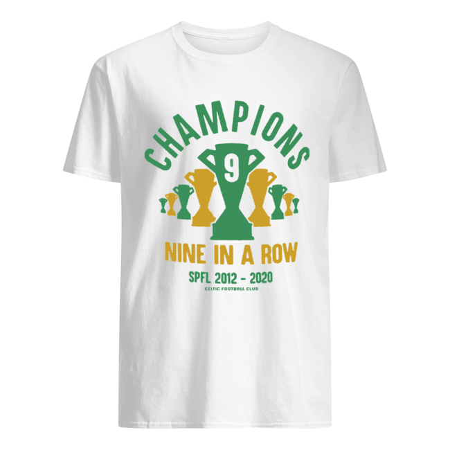 Celtic 9 In A Row  Classic Men's T-shirt