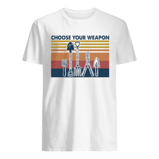 Choose your weapon vintage  Classic Men's T-shirt