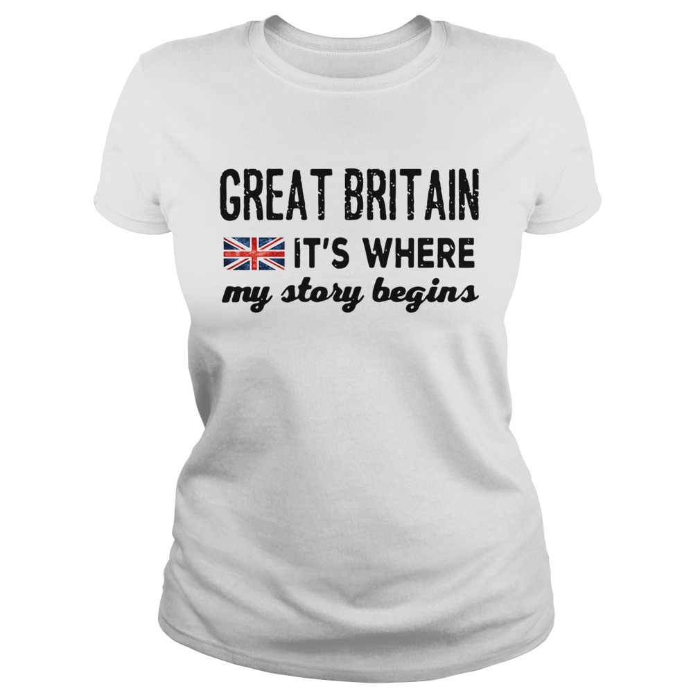 England Great Britain Its Where My Story Begins  Classic Ladies
