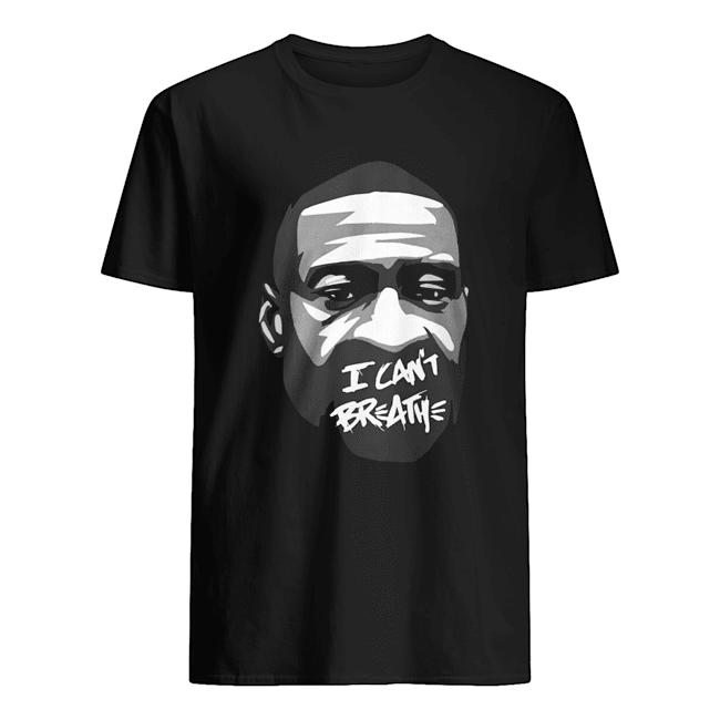 George Floyd I Can't Breathe  Classic Men's T-shirt