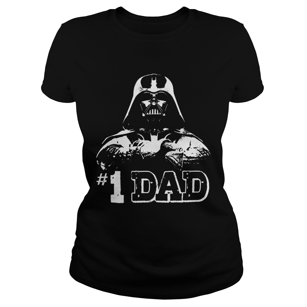Good Darth Vader 1 Dad  Classic Ladies