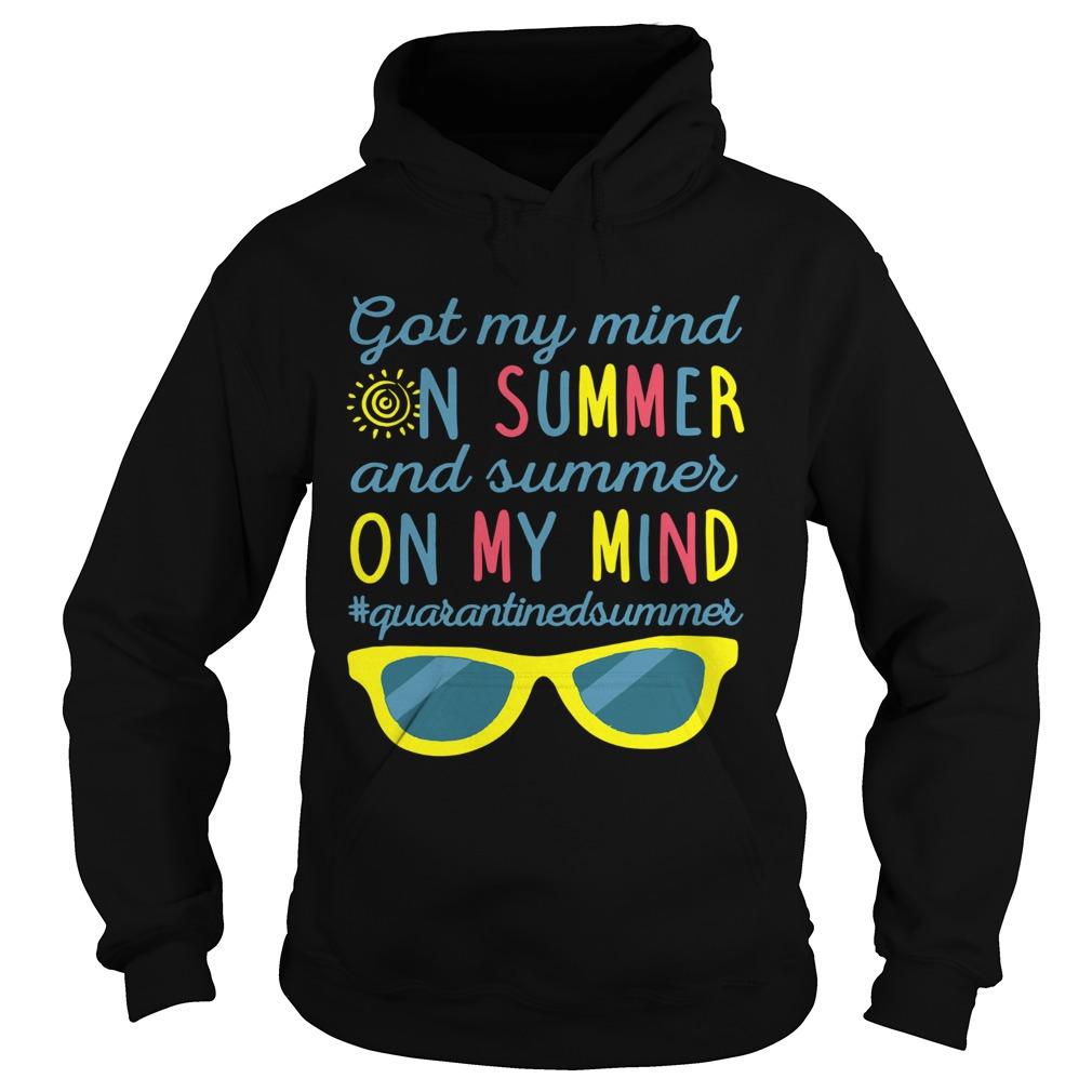 Got My Mind On Summer And Summer On My Mind  Hoodie