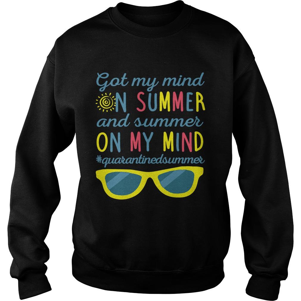 Got My Mind On Summer And Summer On My Mind  Sweatshirt