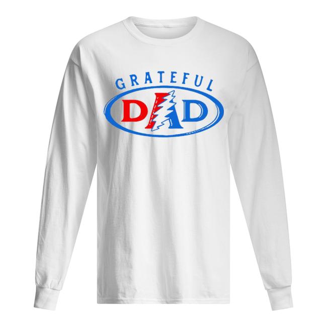 Grateful Dead Dad  Long Sleeved T-shirt