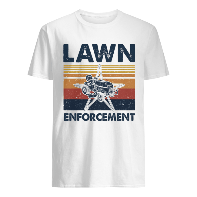 Lawn enforcement vintage  Classic Men's T-shirt