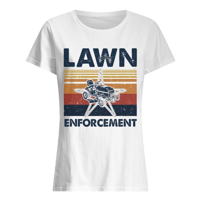 Lawn enforcement vintage  Classic Women's T-shirt