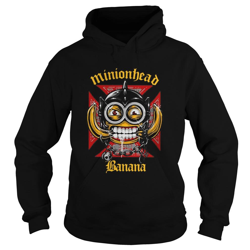 Minionhead Banana Mashup Motrhead  Hoodie