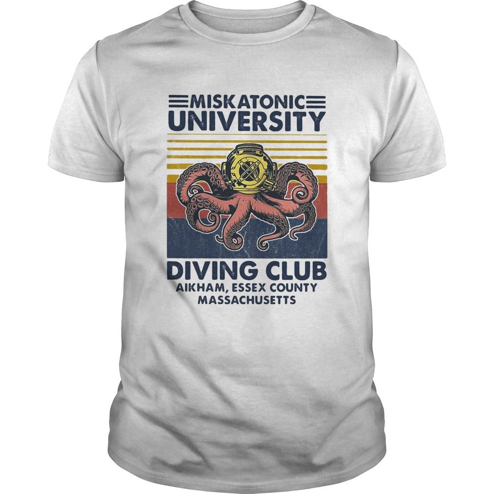 Miskatonic university Scuba diving club aikham essex county vintage  Unisex