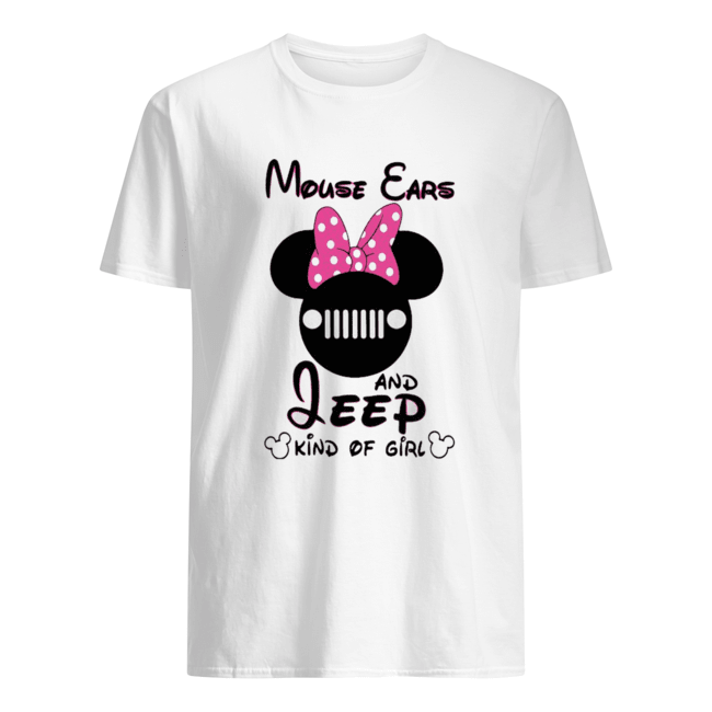 Mouse Cars And Jeep Kind Of Girl  Classic Men's T-shirt