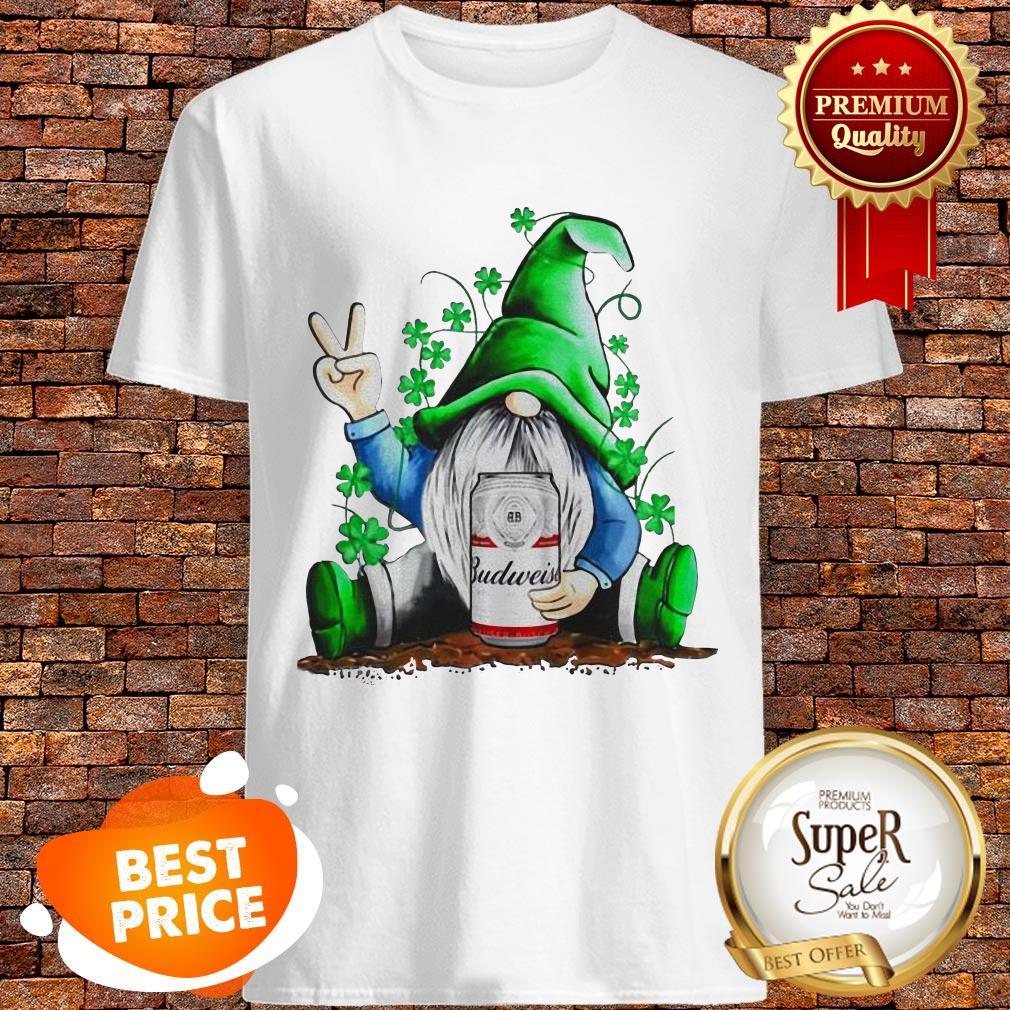 Nice Gnomes Hug Budweiser St. Patrick's Day Shirt