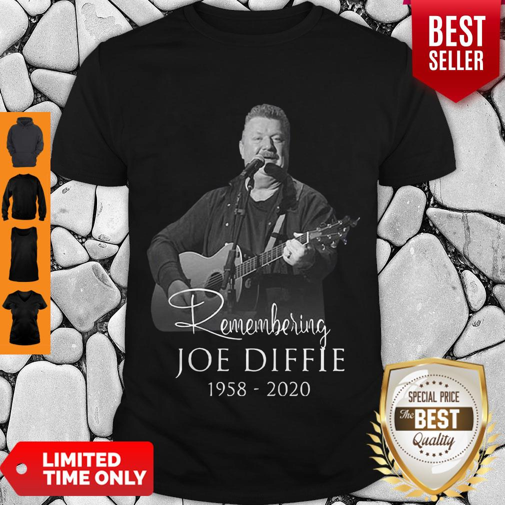 Perfect Remembering Joe Diffie 1958 – 2020 Signature Shirt