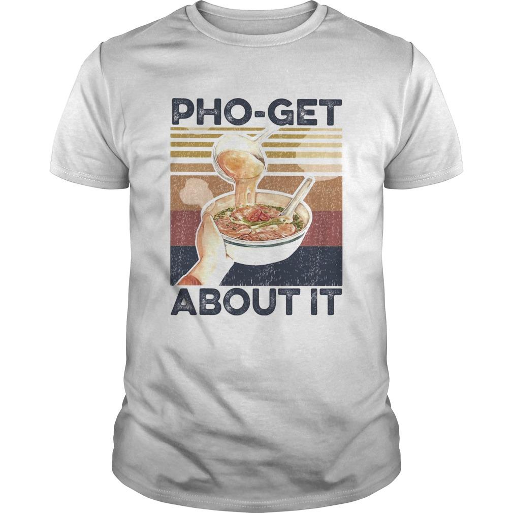 Phoget about it vintage  Unisex