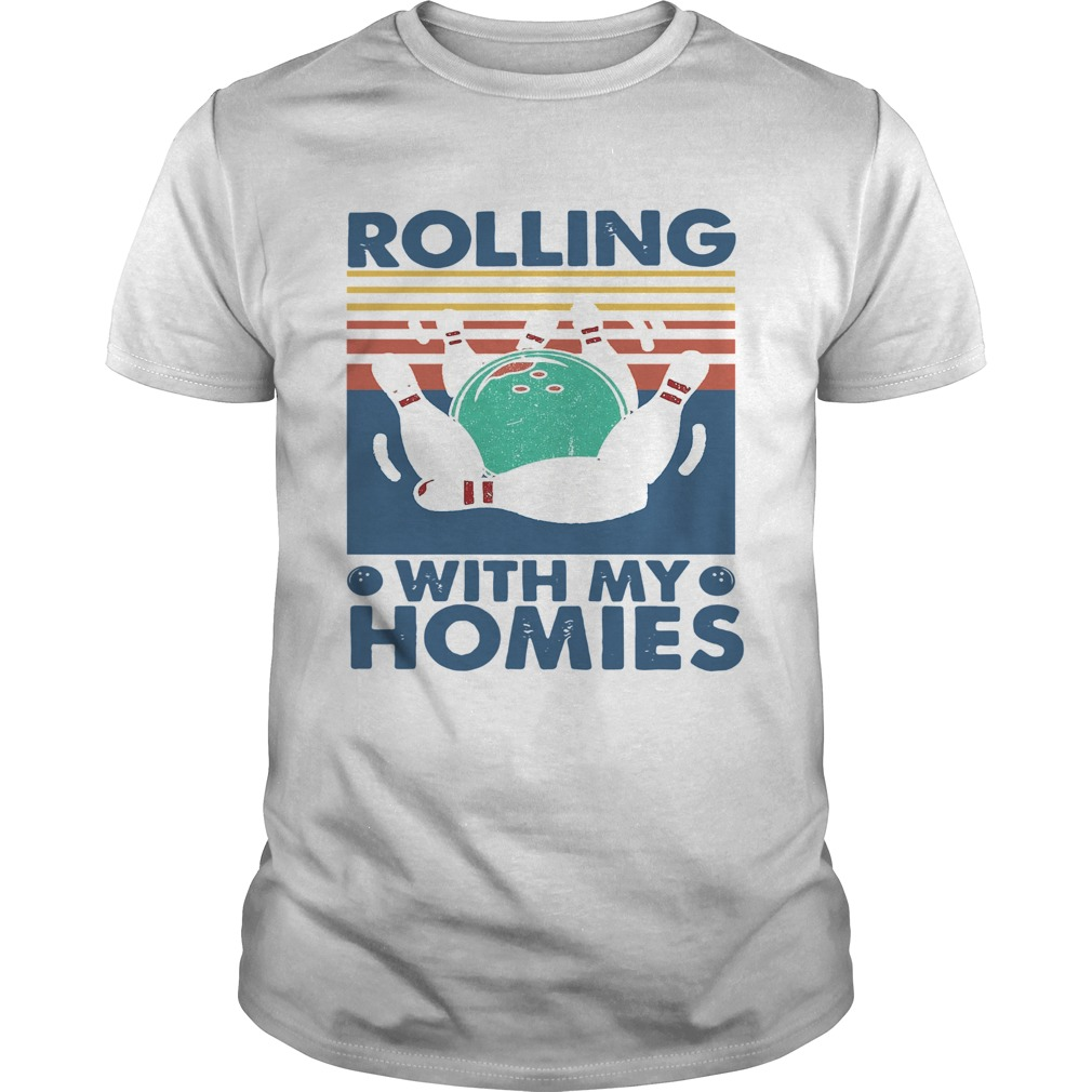 Rolling With My Homies Vintage  Unisex