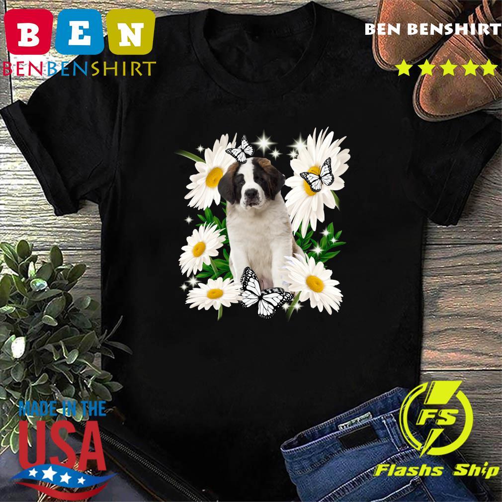 St Bernard Daisy flower Classic T-Shirt