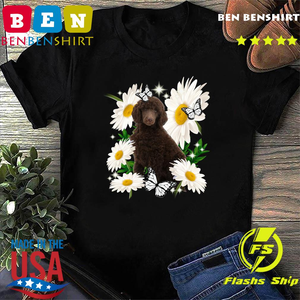 Standard Poodle Daisy flower Classic T-Shirt