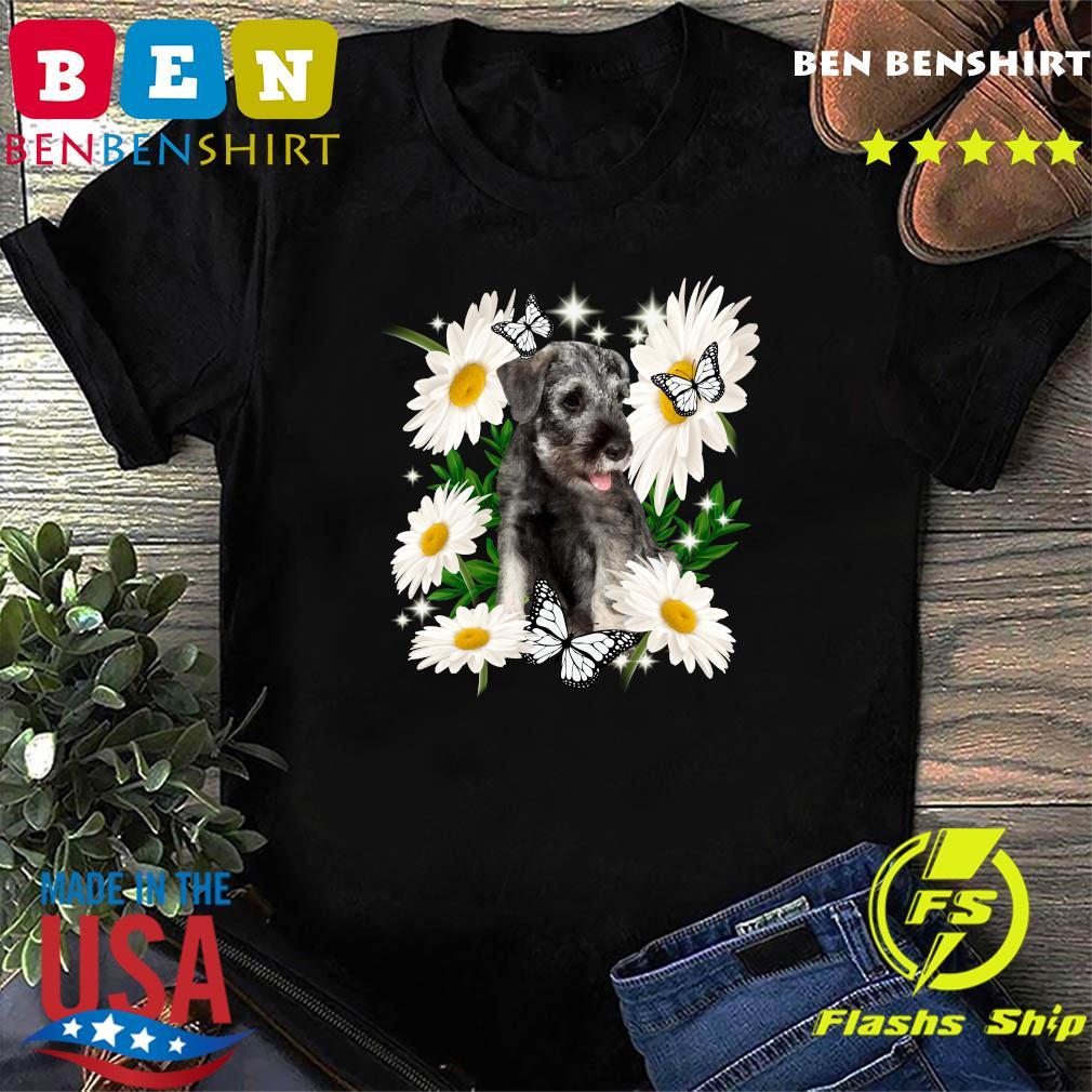 Standard Schnauzer Daisy flower Classic T-Shirt