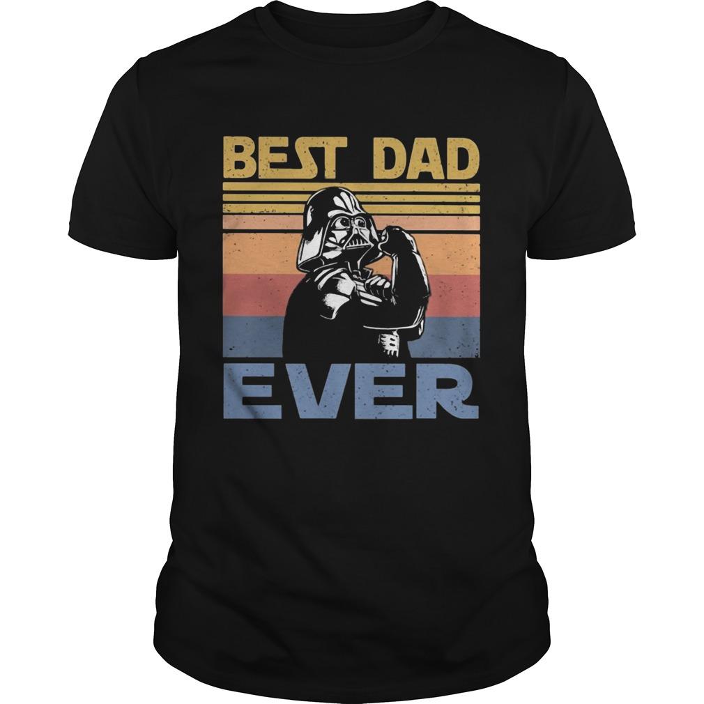 Star wars darth vader best dad ever vintage  Unisex