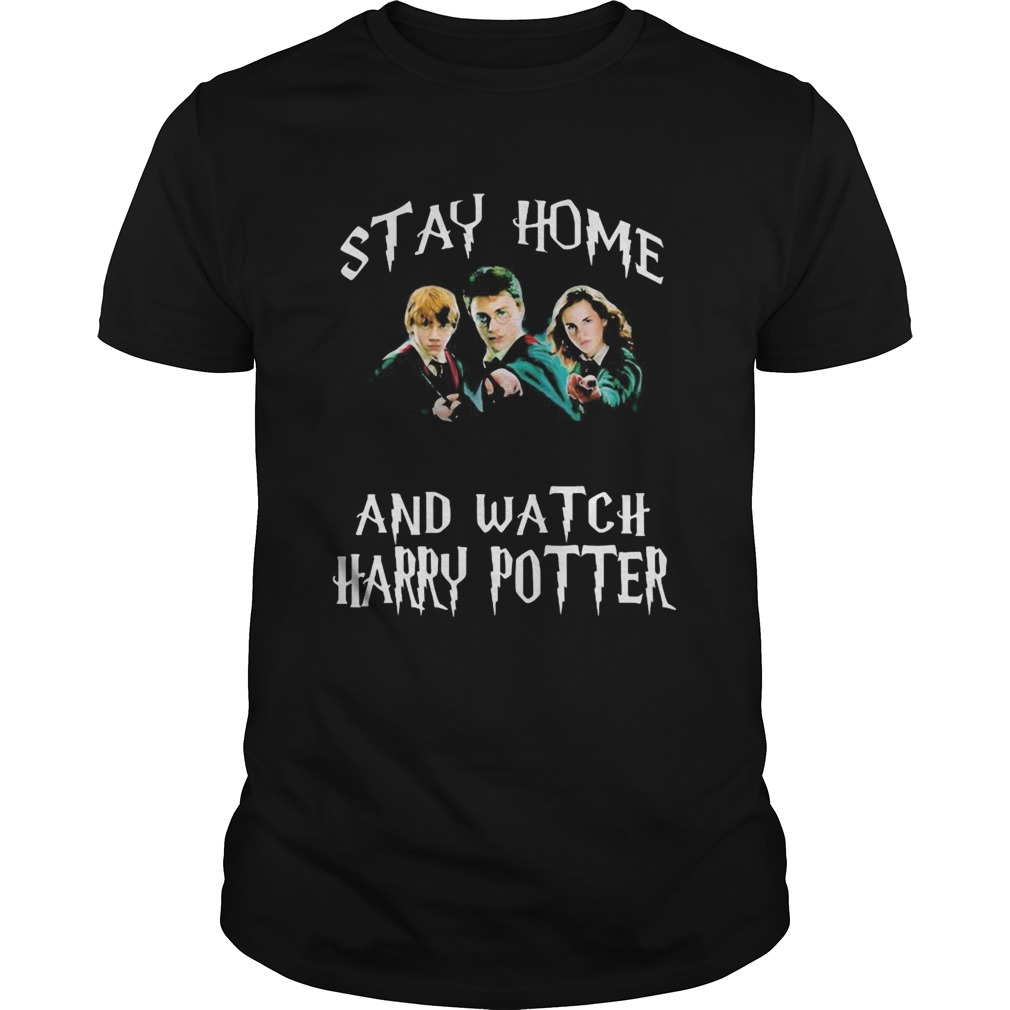 Stay home and watch harry potter characters  Unisex
