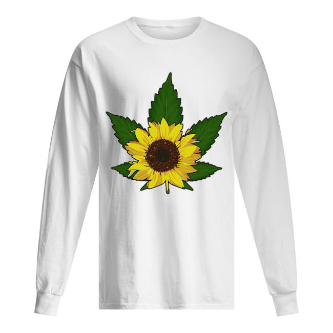 Sunflower weed  Long Sleeved T-shirt