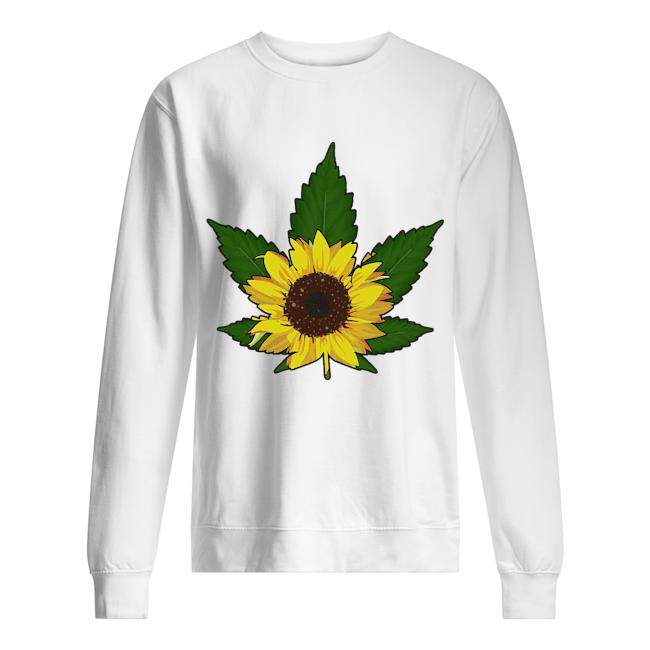 Sunflower weed  Unisex Sweatshirt