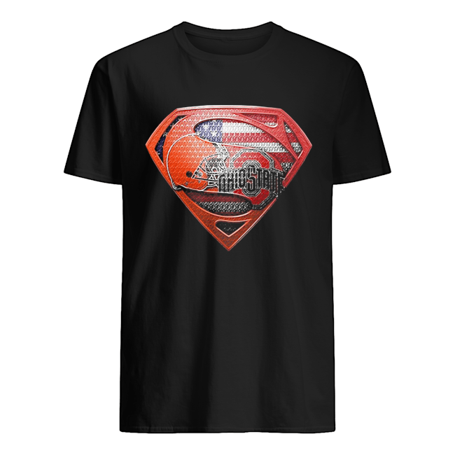 Superman cleveland browns and cleveland indians american flag independence day  Classic Men's T-shirt
