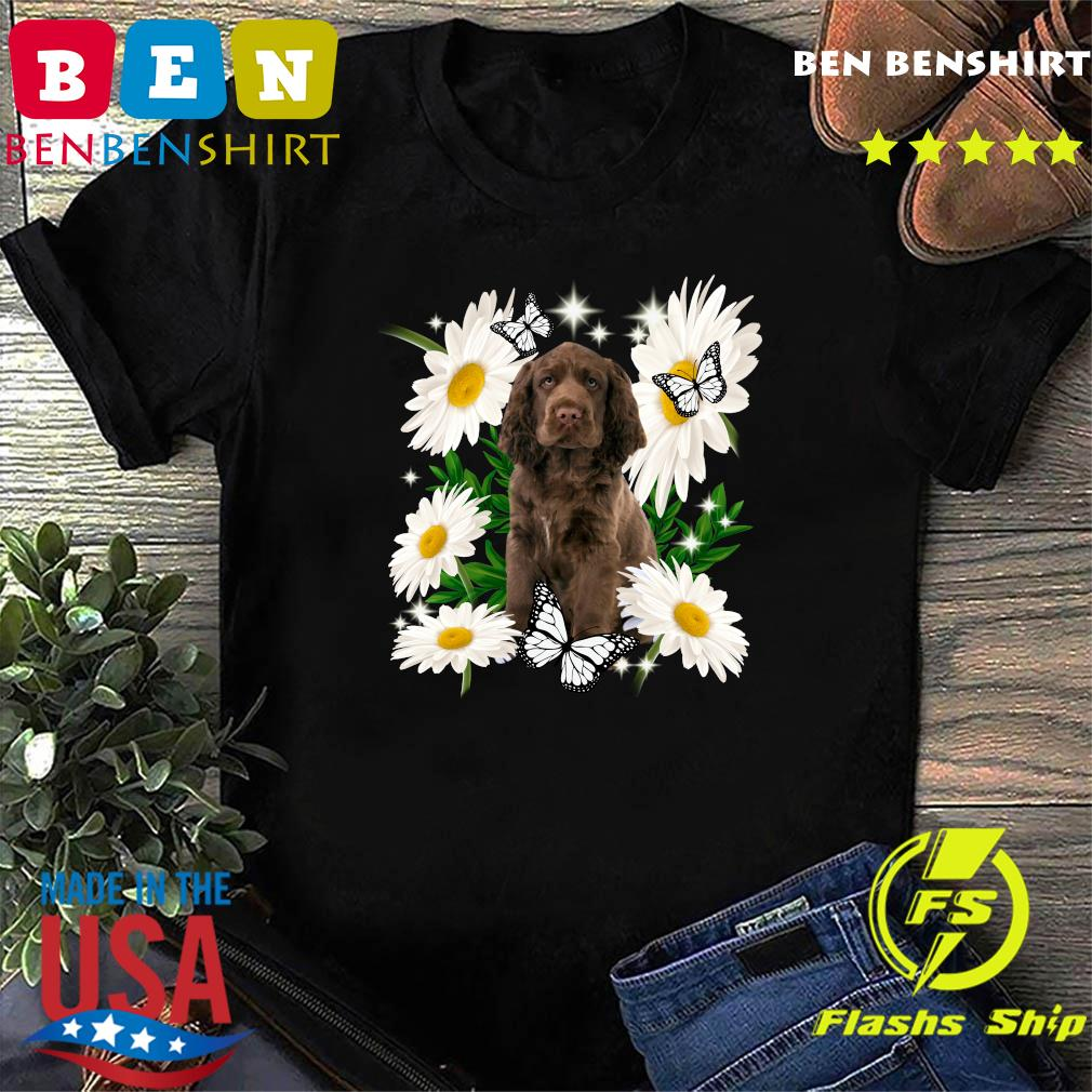 Sussex Spaniel Daisy flower Classic T-Shirt