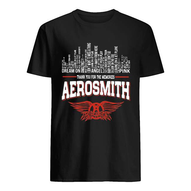 Thank you for the memories aerosmith  Classic Men's T-shirt