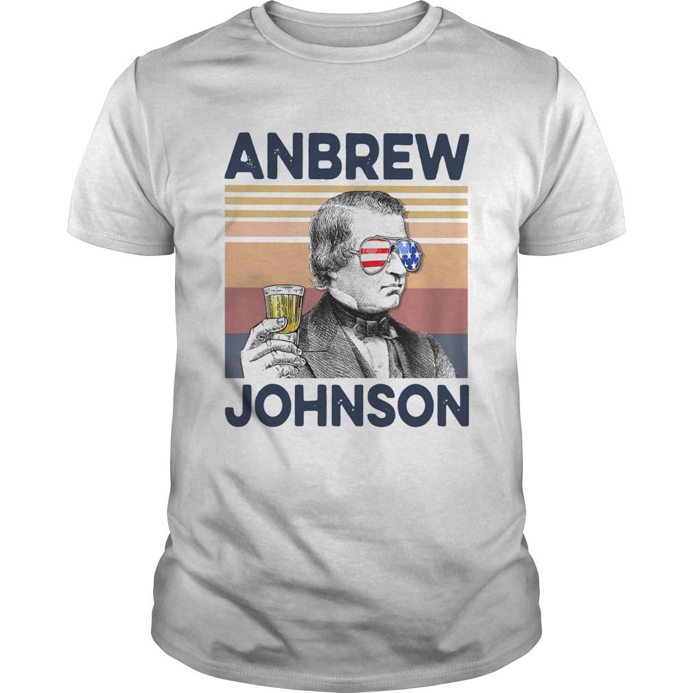US Drink Anbrew Johnson Vintage  Unisex