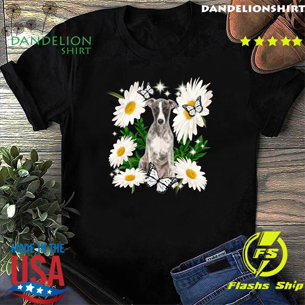 Whippet Daisy flower Classic T-Shirt