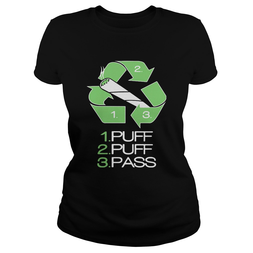 1 puff 2 puff 3 pass smoking  Classic Ladies