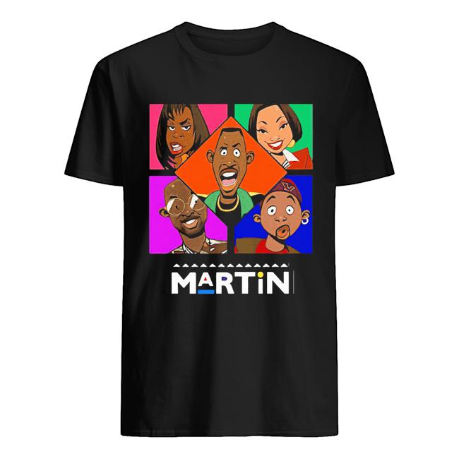 artin lawrence cartoon characters  Classic Men's T-shirt