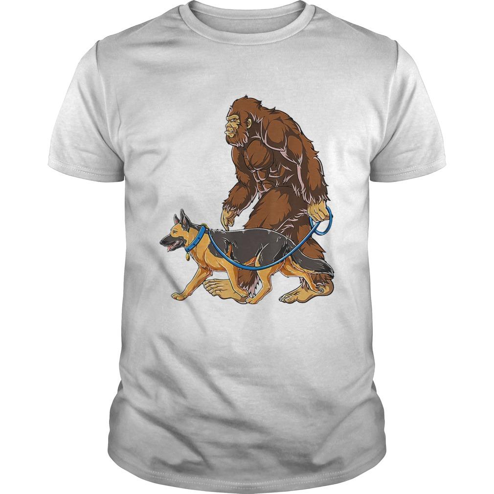 Bigfoot Walking German Shepherd  Unisex