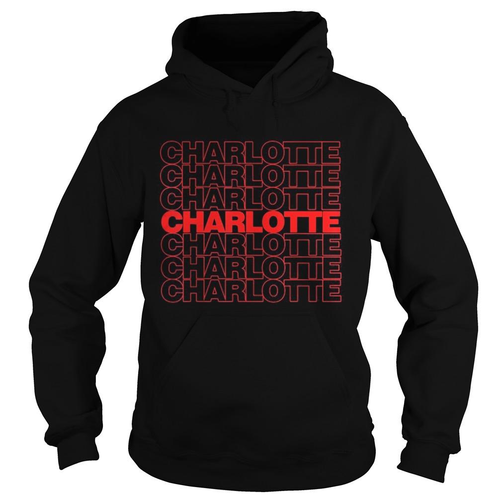 Black live matter charlotte  Hoodie