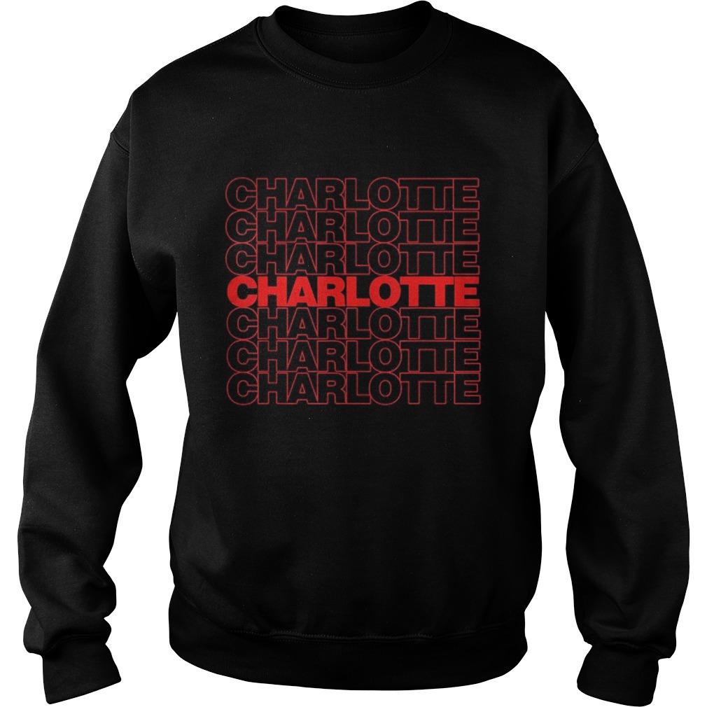 Black live matter charlotte  Sweatshirt