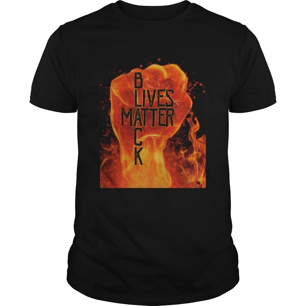 Black lives matter fire fist  Unisex