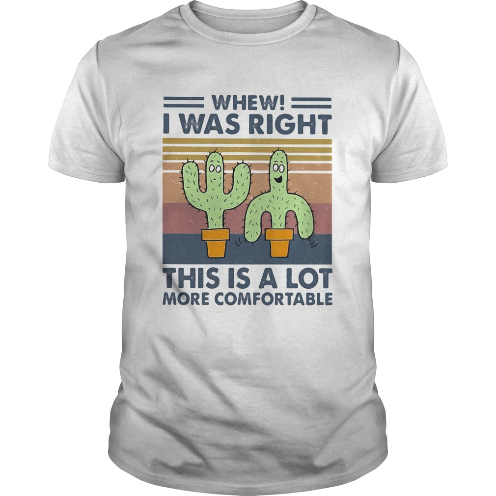 Cactus whew i was right this is a lot more comfortable vintage retro  Unisex