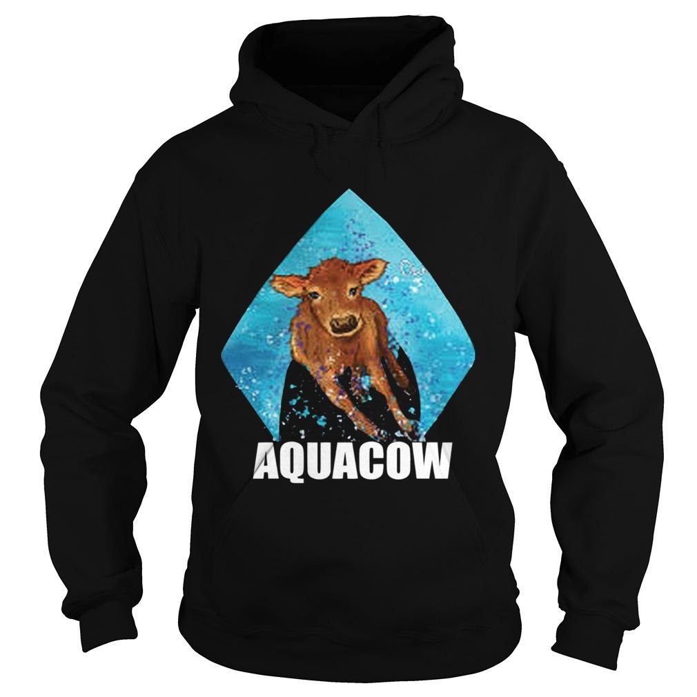Cow Aquacow  Hoodie